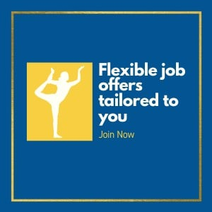Flexible job offers tailored to you