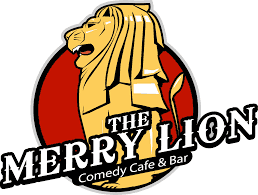 The Merry Lion - Singapore Comedy Club Logo