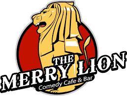 The Merry Lion - Singapore Comedy Club Logo