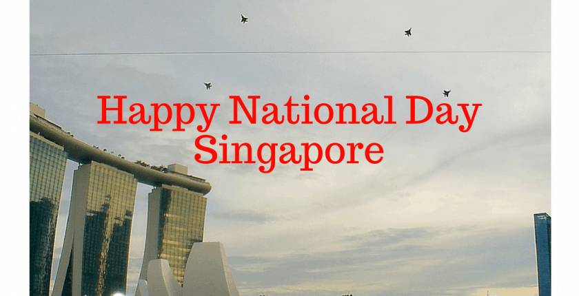 Happy National Day in Singapore